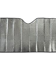 140 * 70 aluminium ombrelles avant automatique du pare-brise soleil protecteur