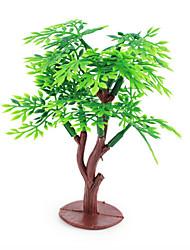 Micro Landscape  Sand Table Model Simulation Plant Tree Ornaments 5Pcs