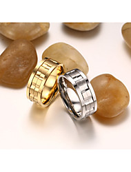 Center Rotating Stainless Steel Ring