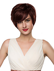 Attractive Stylish Woman's Virgin Remy Human Hair Hand Tied -Top Emmor Wigs