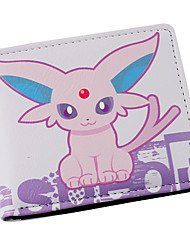 Bag / Wallets Inspired by Pocket Monster Cosplay Anime Cosplay Accessories Wallet Pink PU Leather Male / Female