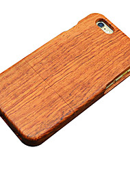 For iPhone 5 Case Other Case Back Cover Case Wood Grain Hard Wooden for iPhone SE/5s/5