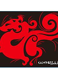 29 * 25 cm lobo alfombrilla de ratón para el juego lol / cf / dota rojo / azul