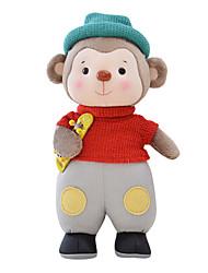 Metoo Senbao Monkey Plush Toy Doll Doll Birthday Gift Monkey Mascot Red Skateboard Treasure 45Cm
