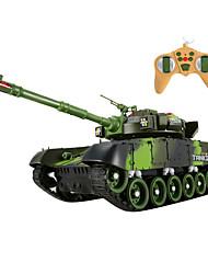 controle remoto modelo de carro tanque, carro de brinquedo de controle remoto, o metal contra os tanques (l) - a vida expia hc0151 12