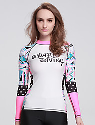 SBART Women's Diving SuitHigh Breathability / Ultraviolet Resistant / Quick Dry  / Soft / smooth / Lightweight41
