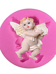 Angel /KettleType Candy Fondant Cake Molds  For The Kitchen Baking Molds