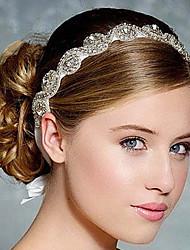 полный кристалл атласной лентой зашнуровать оголовье для свадьбы партии ювелирных изделий повелительницы волос