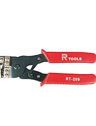Ficha modular régia friso ferramenta de rede multifuncional alicates rt-209