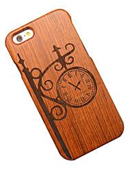 Pour Coque iPhone 6 / Coques iPhone 6 Plus Motif Coque Coque Arrière Coque Dessin Animé Dur Bois Apple iPhone 6s Plus/6 Plus / iPhone 6s/6