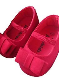 Girl's Flats Summer Comfort Suede Outdoor Red