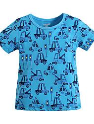 Camiseta Boy-Verano-Algodón-Estampado