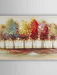 ручная роспись маслом пейзаж абстрактные живые деревья с растянутыми кадр 7 стены arts®