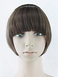 Wig Black 15CM High-Temperature Wire Temples Colour 2009