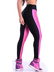 Femme Couleur Pleine Legging,Polyester