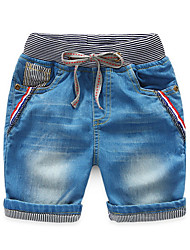 Summer Spring Boy Jeans Pants Summer Children Short Jeans Child Denim Pants Children Trousers
