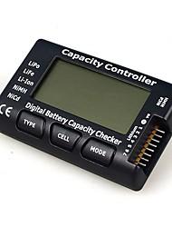 cellmeter7 / controlador de teste de tensão de exibição verificador tester 1-7s digital de capacidade da bateria para a vida lipo nimh