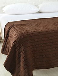 "Think Knitted Blanket Full Cotton 47""*71"""