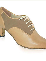 Maßfertigung-Blockabsatz-Kunststoff-Modern / Swing Schuhe-Damen