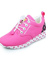 Baby Shoes-Casual-Sneakers alla moda-Di corda-Rosa