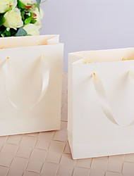 Ivory Handbag Design Wedding Favor Bags