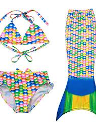 Bañador Chica de-Playa-Estampado-Poliéster-Verano-Multicolor
