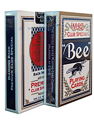 Bee Playing Cards 92 Bee Brand  Fluorescent Anti-Counterfeiting  Cards (2 Pack)