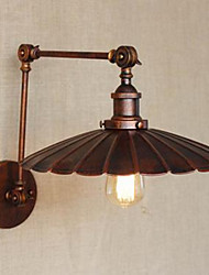 fazer o lâmpada de parede velho e enferrujado vintage velho guarda-chuva pequeno pouco decorativo