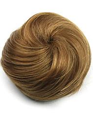Kinky Curly Brown Europe Hepburn Human Hair Weaves Chignons 2005