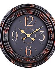 Redonda Moderno/Contemporâneo Relógio de parede,Outros Plástico 50.6*50.6*6