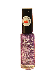 Bgirl Painting Purple 10ML Manicure Drawing Pen Nail Polish for 3 Years