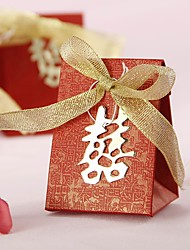 12 Piece/Set Candy Bag, Chinese 50th Wedding Anniversary Favor Box Party Decoration