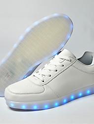 de los hombres zapatos de carga USB llevó a zapatillas de deporte casuales / al aire libre / atlético azul / azul marino