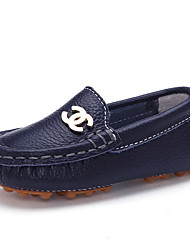 Girls' Shoes Casual Comfort Leather Flats Blue / Red / White