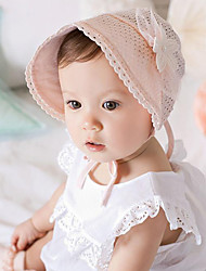 Kid's Handmake Knitting Lace Princess Hat(3-18Month)