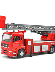 Children's toy car fire rescue 1:32 alloy car model toy ladders (2PCS)