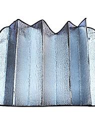 verso argent coton bulle fenêtre de pare-brise bloc pare-soleil de la voiture 130 * 60cm