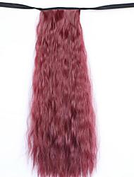 peruca vinho tinto 50 centímetros de água fio de alta temperatura sintético cavalinha milho quente cor erro