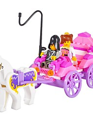 Children's puzzle princess carriage Building blocks toys