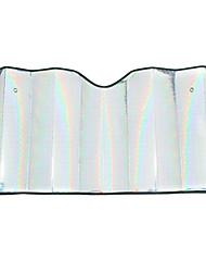 140 * 70cm Laser Baumwollperlgarn Frontscheibe Sonnenschutz verdicken