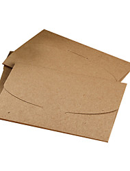 Greeting card Postcard Kraft paper envelope(10 piece)