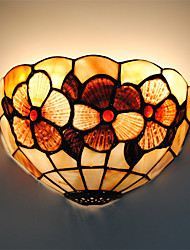 8 inch Retro Tiffany Wall Lights Shell Shade Living Room Bedroom light Fixture