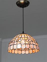 14 inch Retro Tiffany Pendant Lights Shell Shade Living Room Dining Room light Fixture