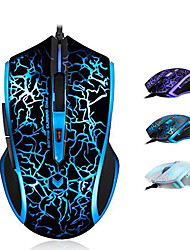 Orginal Rapoo V20S Ergonomic High-speed Optical Gaming Mouse 60IPS 12MHz ARM Core Adjustable 3000 DPI Smart Breathing