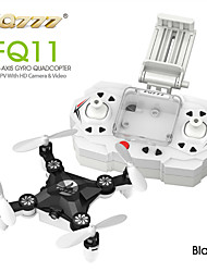 FQ777 FQ11W Zumbido 6 ejes 4 canales 2.4G RC Quadcopter Retorno con un botón / Modo de Control Directo / Vuelo invertido de 360 grados