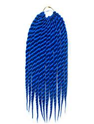 Коричневый Гавана Спиральные плетенки Наращивание волос 12 14 16 18 20 22 24 Kanekalon 12 нитка 120 грамм косы волос