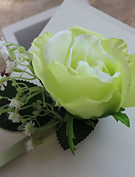 Wedding Flowers Free-form Handmade Roses Elegant Wrist Corsages