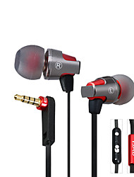 Awei ES-860hi Stereo Sport Metal Earphone Headset Hifi Headphones with Microphone for Xiaomi iphone and Android