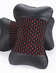 PU Leather Car Seat Headrest Ramdon Color