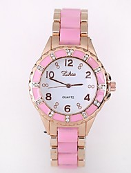 Ladies' Watch Explosion Models Imitation Ceramic Diamond Watches Ladies Quartz Watches